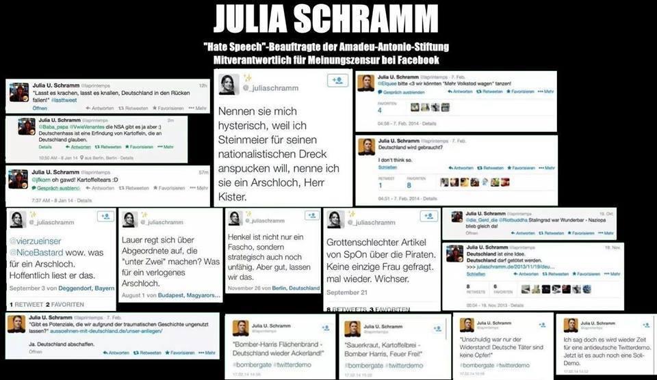 Julia ... Hatespeechbeauftragte