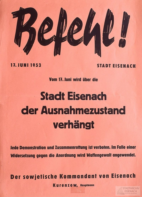800px-Eisenach_17_Juni_1953_Befehl_Stadtkommandant_Kurenzow