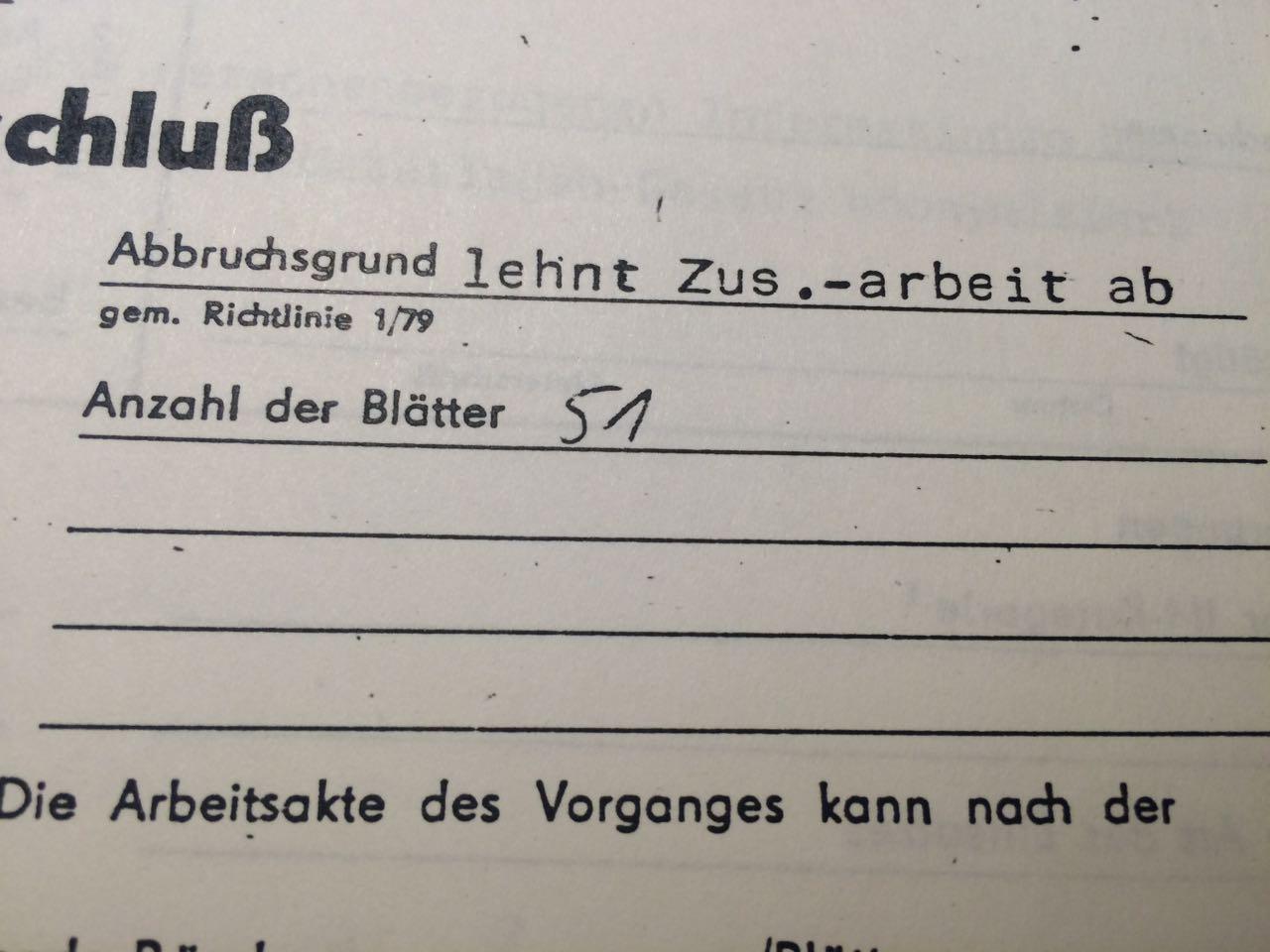 Stasi Akte 4