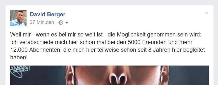 facebook verabschiedung