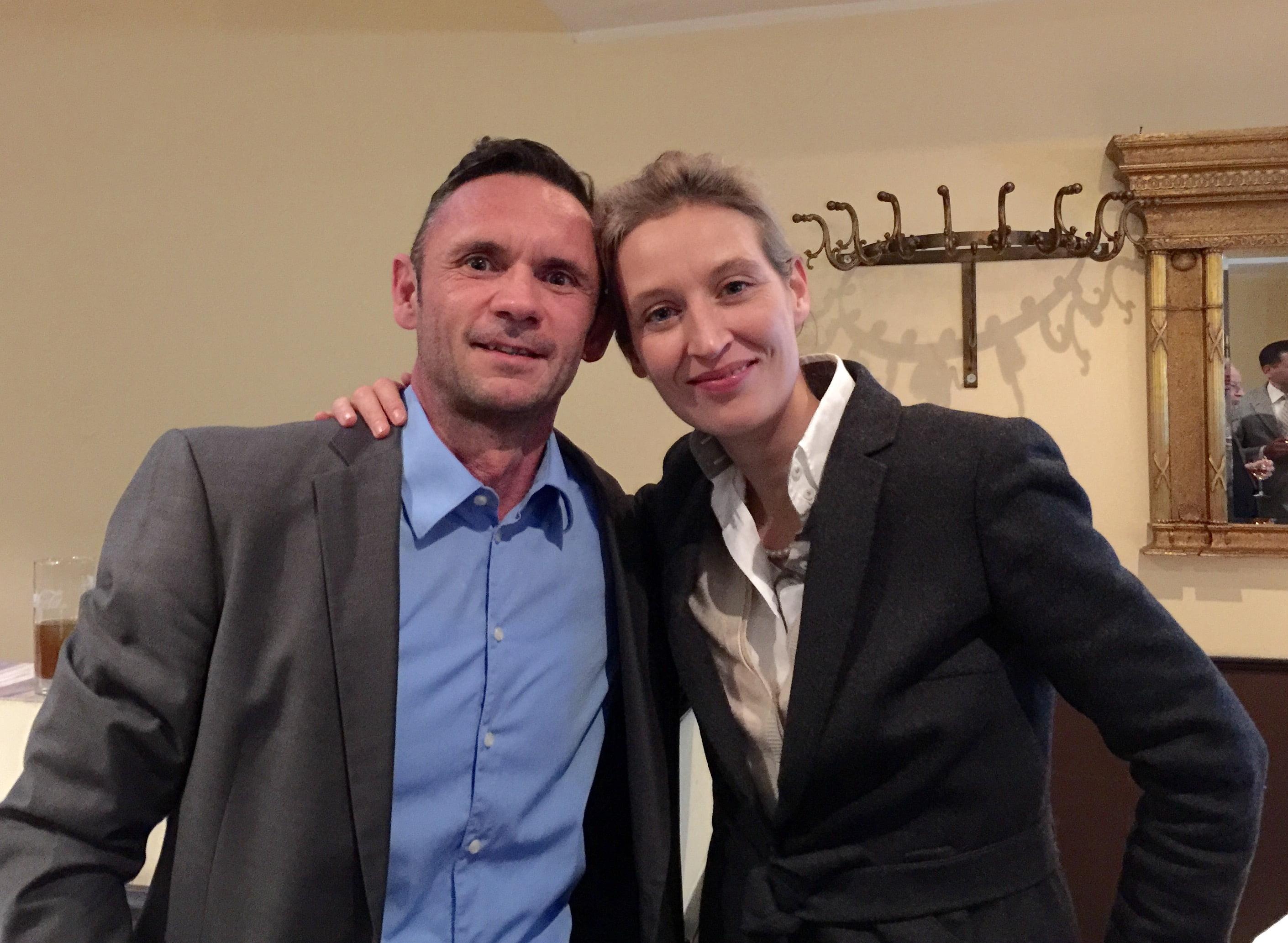 Alice Weidel und David Berger