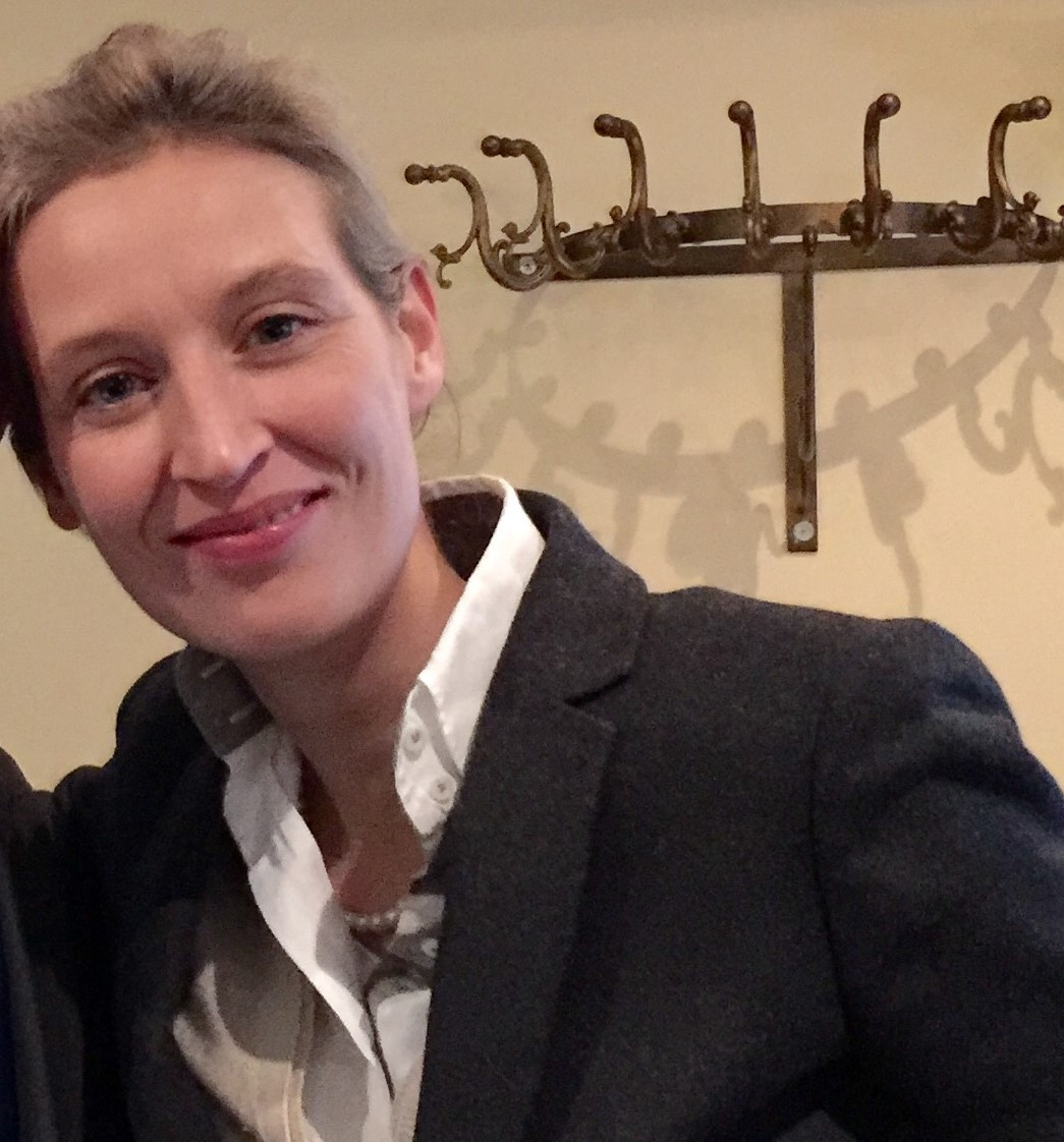 Alice Weidel und David Berger