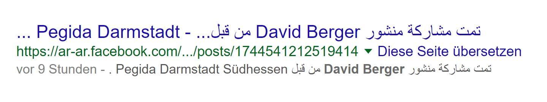 Facebook Araber