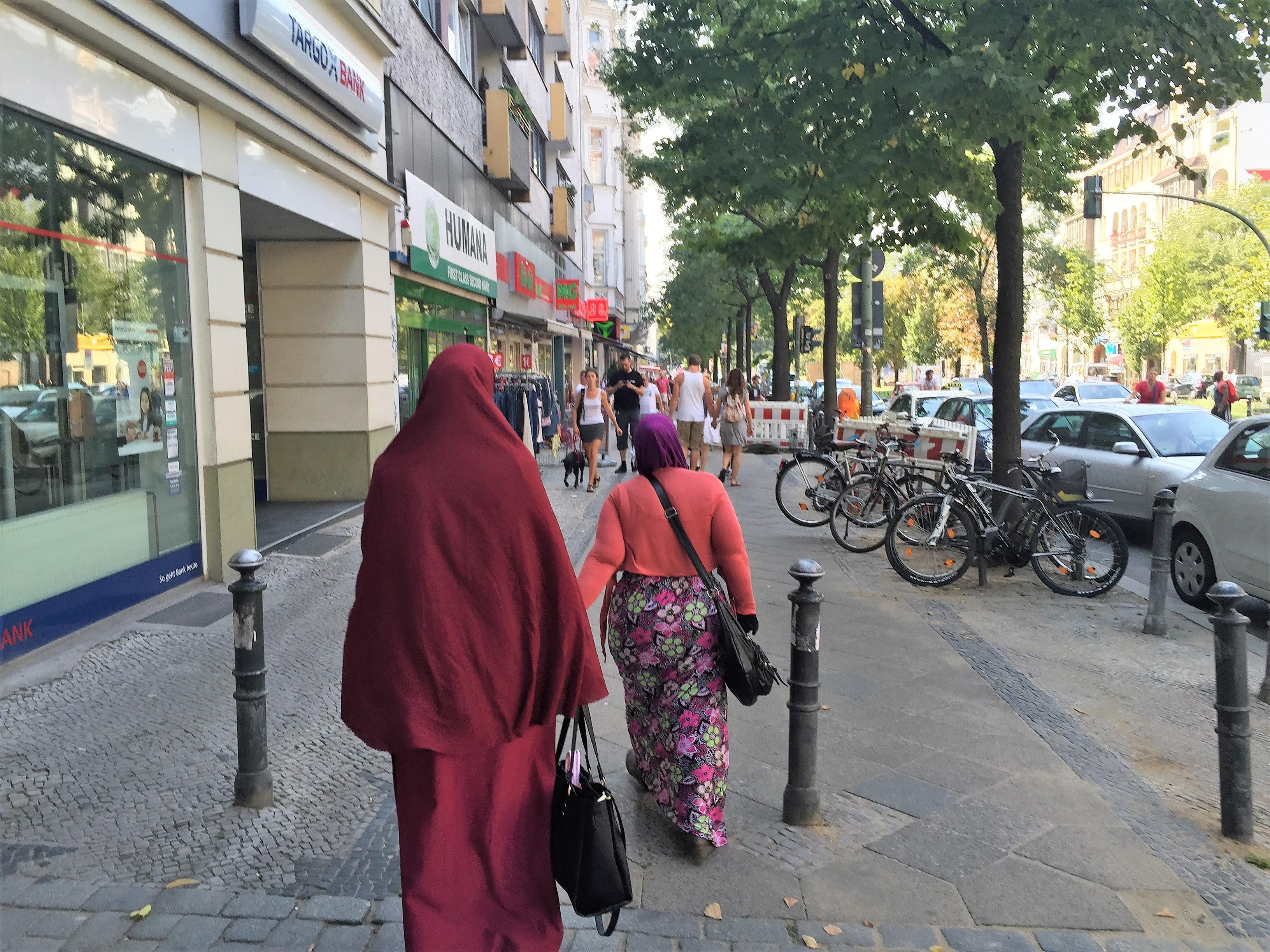 Burka Berlin Neukölln (c) David_Berger