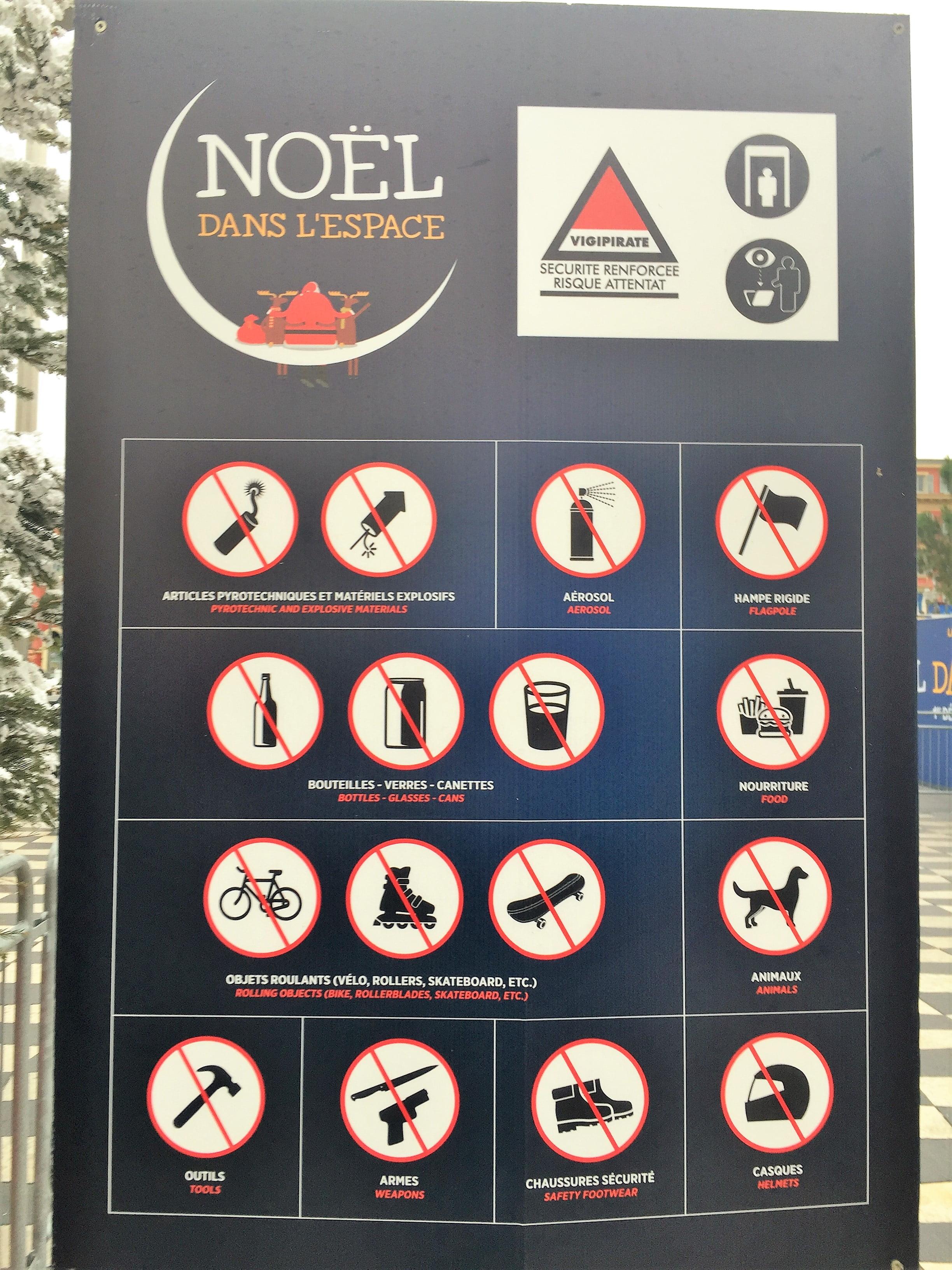 Weihnachtsmarkt Vorschriften