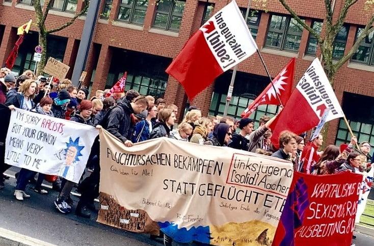 linksjugend Solid (c) David Berger