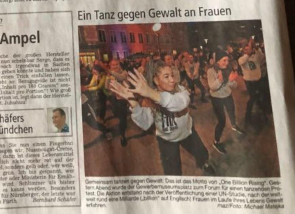 Nürnberg Tanz gegen Gewalt