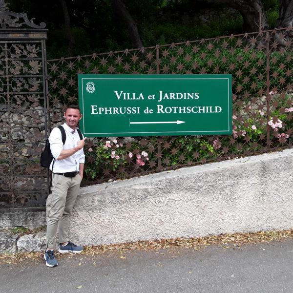 David Berger zeigt uns die Villa Rothschild in Nizza
