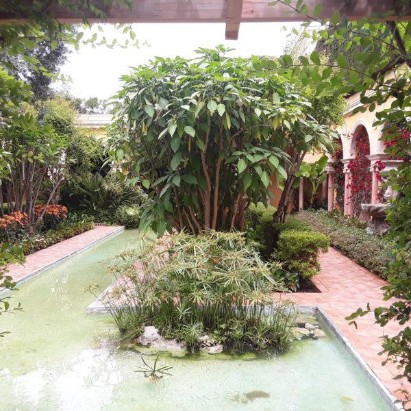 Villa Rothschild: der zweite Teich