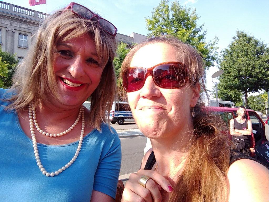 Michaela mit PP Autorin Andrea Berwing