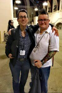 Ceri Dyke hat Angst von einer transsexuellen Frau vergewaltigt zu werden