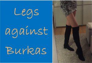 Das Titelbild der Aktion mit den Beinen von PP Gastautorin und Bloggerin, der Rechtsanwältin Karoline Seibt