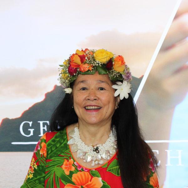 Polynesierin aus Tahiti