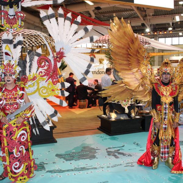 Indonesische Tänzer