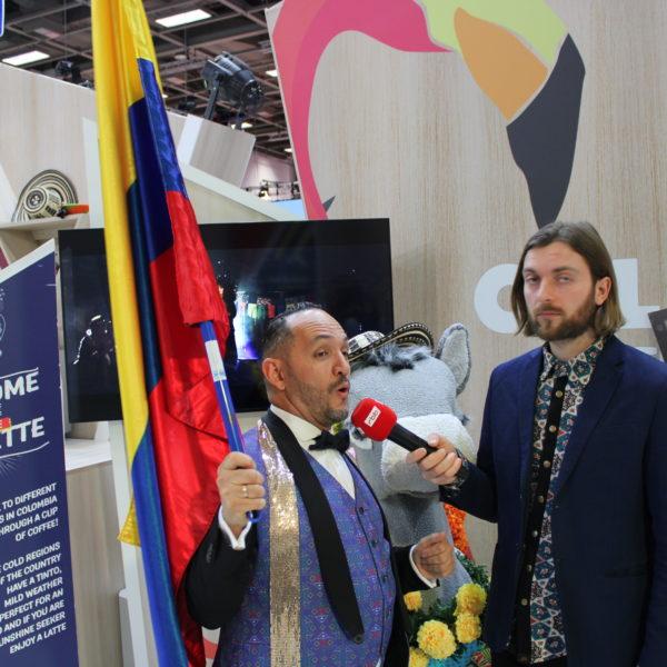 In Kolumbien zeigt man stolz seine Fahne