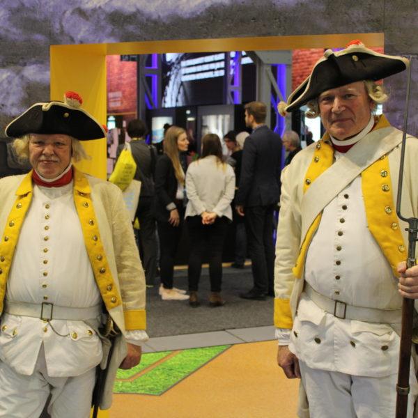 Sachsens Soldaten in historischen Uniformen