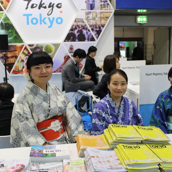 Tokio – Japanerinnen im Kimono