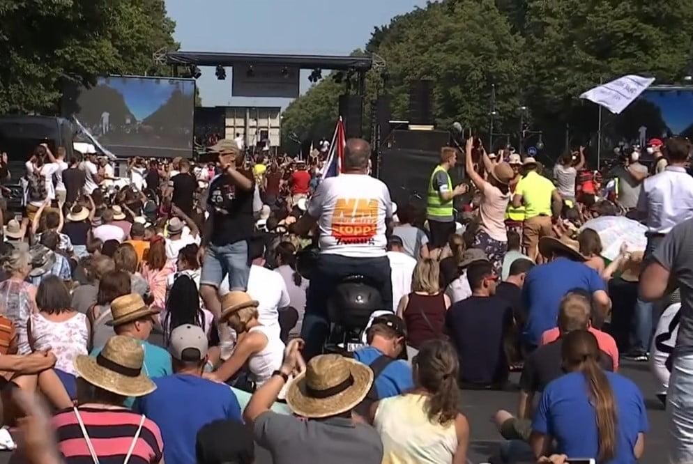 Anti Corona Demo Berlin