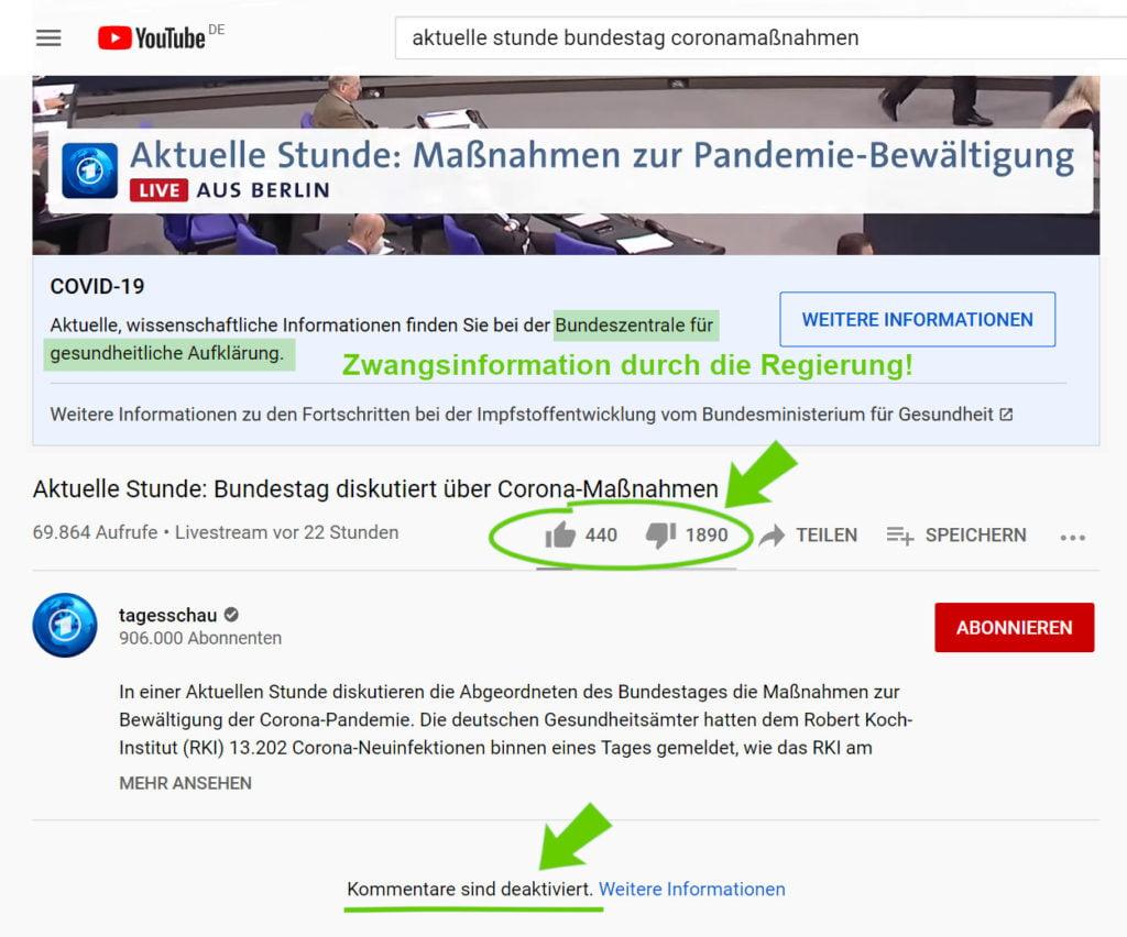 Aktuelle Stunde im Bundestag zu Corona
