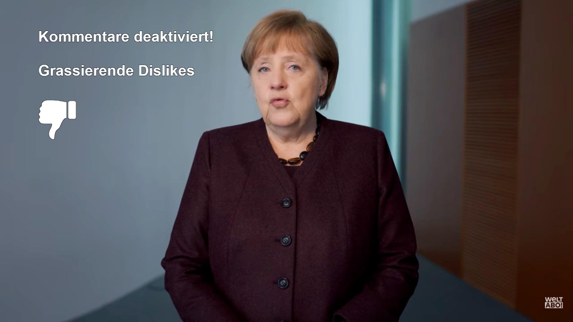 Angela Merkels Coronarede an die Nation