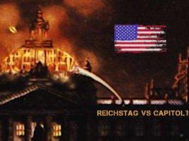 Vergleich des Sturms auf das Capitol mit dem Reichstagsbrand