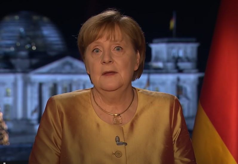 Neujahrsansprache Merkel 2021