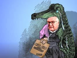 Der Bundespräsiden vergießt Krokodilstränen