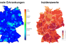 Die Diskrepanz zwischen Inzidenzwerten und realen Erkrankungen auf Basis von RKI-Daten