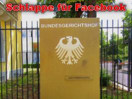 Facebook unterliegt vor dem Bundesgerichtshof
