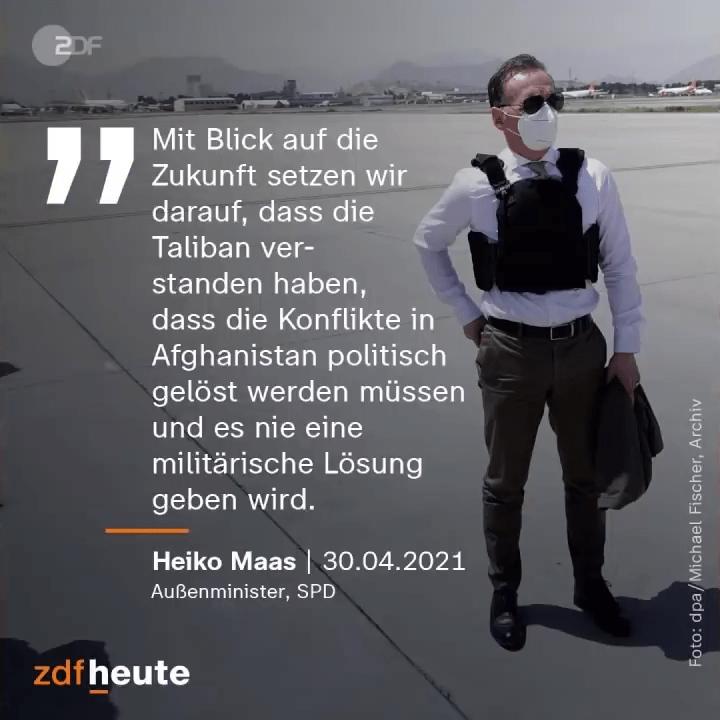 Außenminister Heiko Maas zu Afghanistan