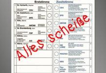 Ungültig wählen ist sinnlos